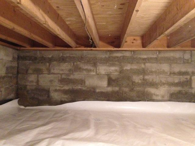 Basement Insulated with Closed Cell Spray Foam in Newark Valley, NY