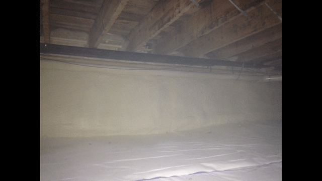 Crawl Space Cleanspace System Installed in Whitney Point, NY