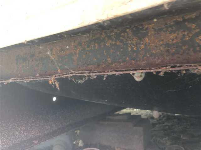 Underside of Mobile Home - Closed Cell Spray Foam