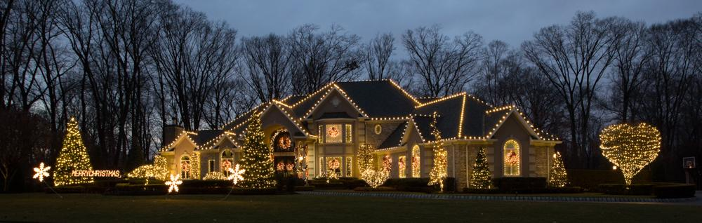 We Really Lit Up this House in Holmdel, NJ - After Photo