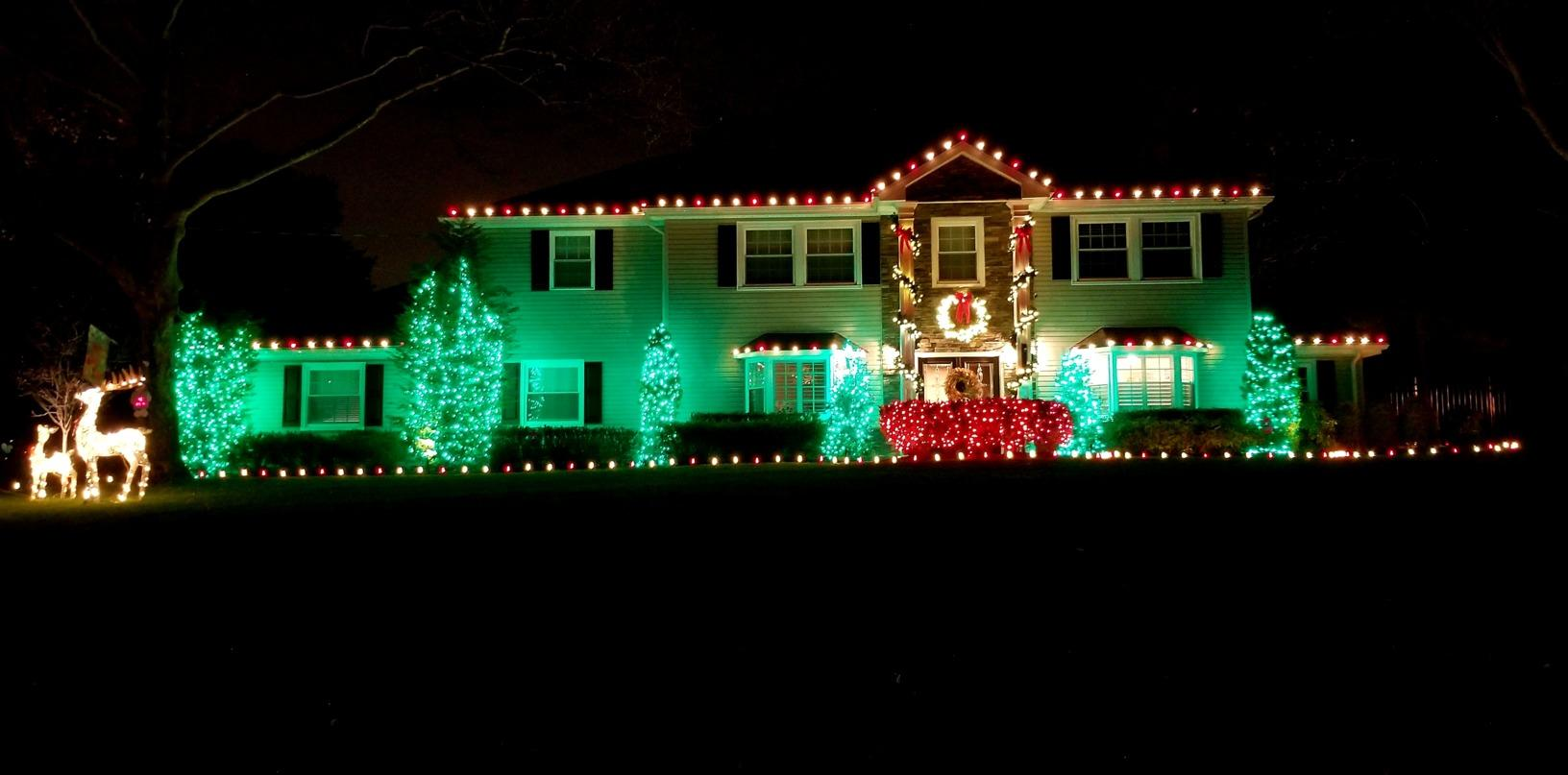 Bringing the Holiday Spirit to Middletown, NJ - After Photo