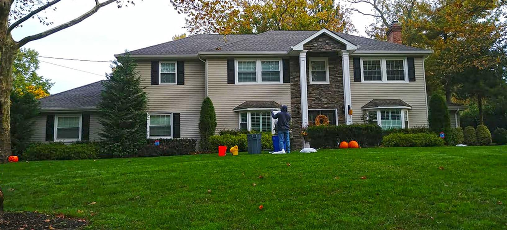 Showing the Green in Middletown, NJ - Before Photo