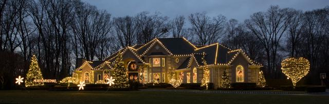 We Really Lit Up this House in Holmdel, NJ