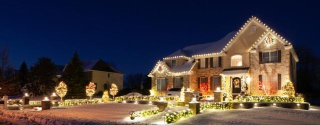 Holiday Lighting in Lincroft, NJ