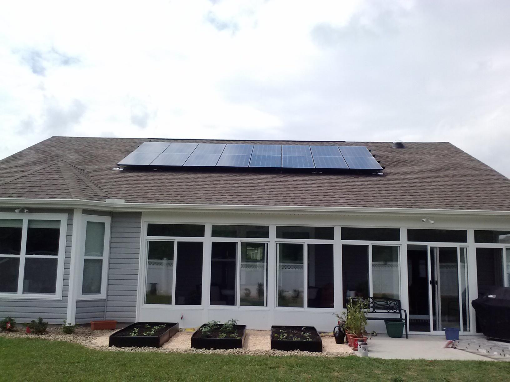 Solar PV - After Photo