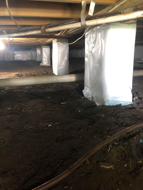 Crawl Space Encapsulation, Murrels Inlet, SC - Before Photo
