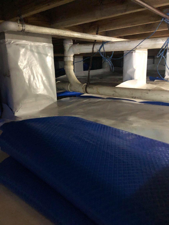 Crawl Space Encapsulation, Murrels Inlet, SC - After Photo