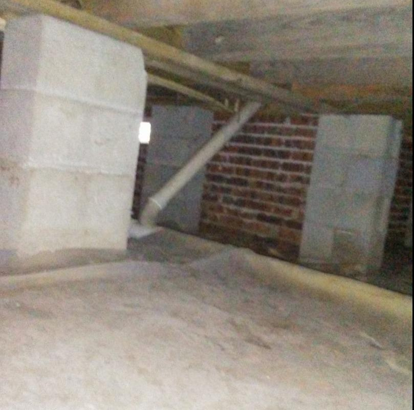 Crawlspace Encapsulation in Mc Coll, SC! - After Photo