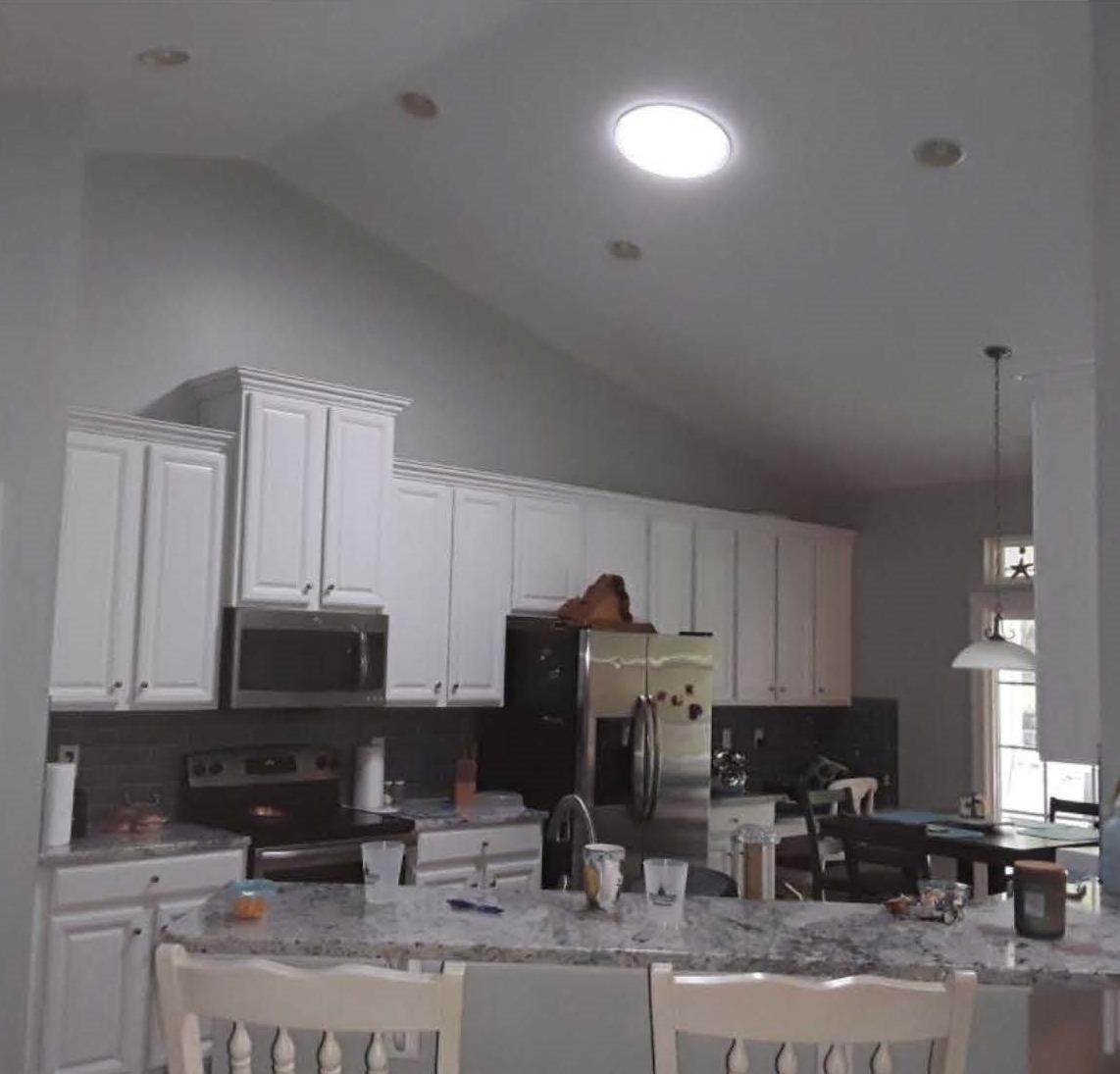 Adding Natural Light To Your Kitchen! - After Photo