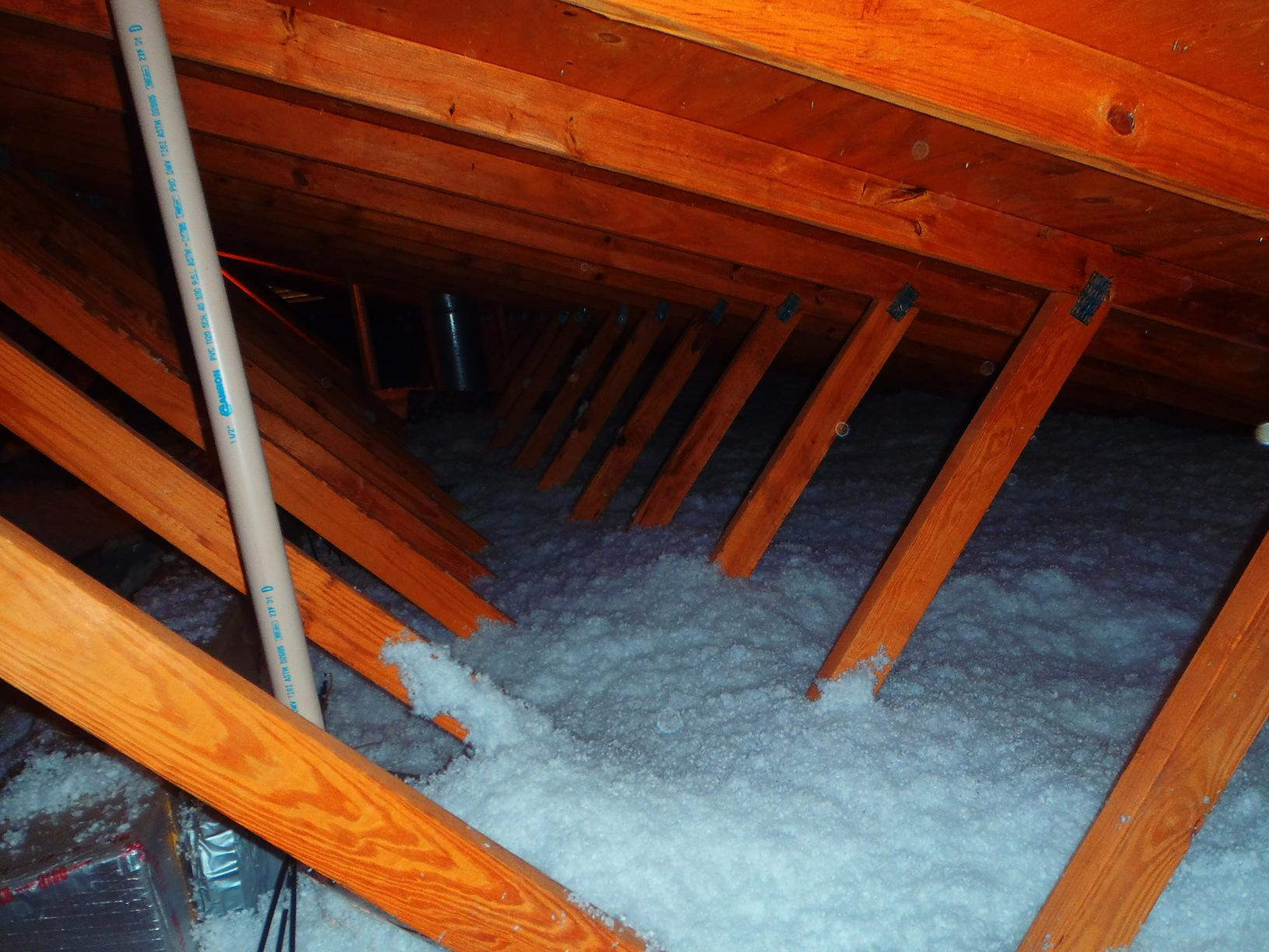 Attic Insulation - After Photo