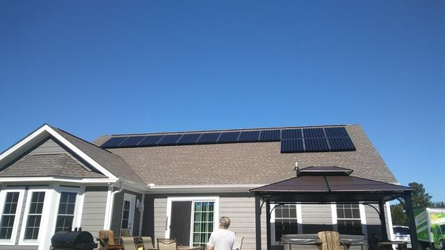 New Homes Go Solar!