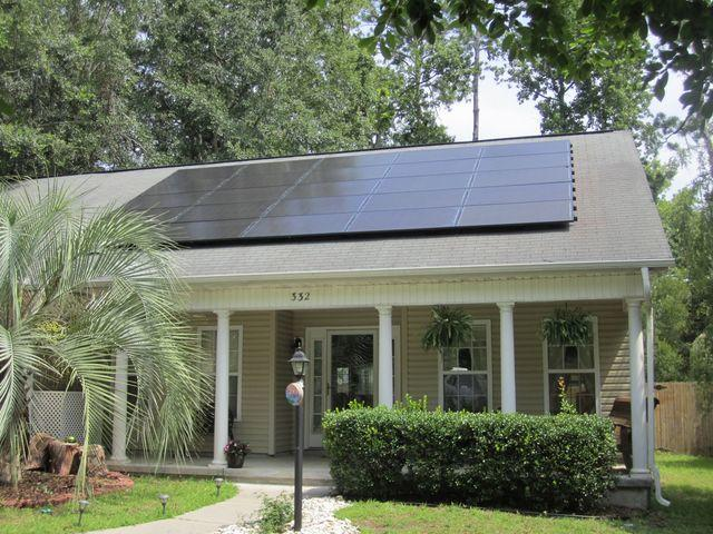 Sunlight energy through Solar panels, Beaufort, Beaufort, 29901,SC