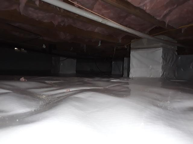Crawl Space Encapsulation, Lumberton, Robeson County, NC, 38358 - After Photo
