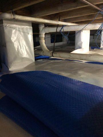 Crawl Space Encapsulation, Murrels Inlet, SC