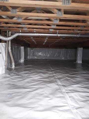 Crawlspace Encapsulation in Salters, SC!