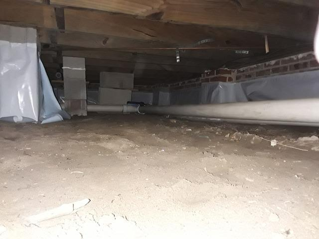 Crawlspace Encapsulation in Mayesville, SC!