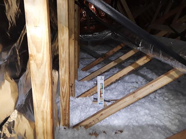 Fork, SC Attic Insulation Install