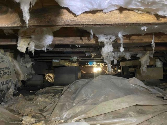 Crawl Space Encapsulation in Little River