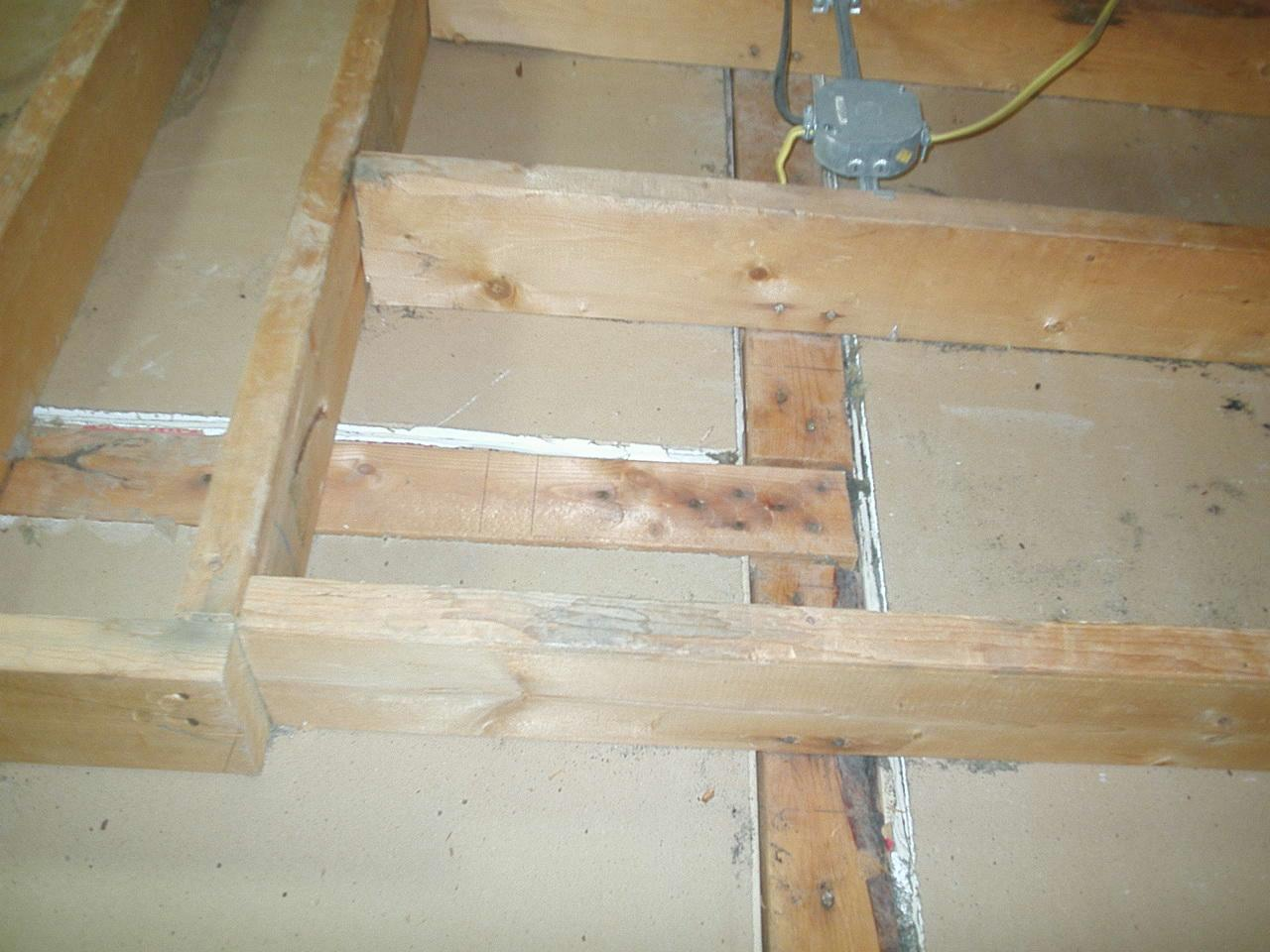 Attic Air Sealing in Plainfield, IN - Before Photo