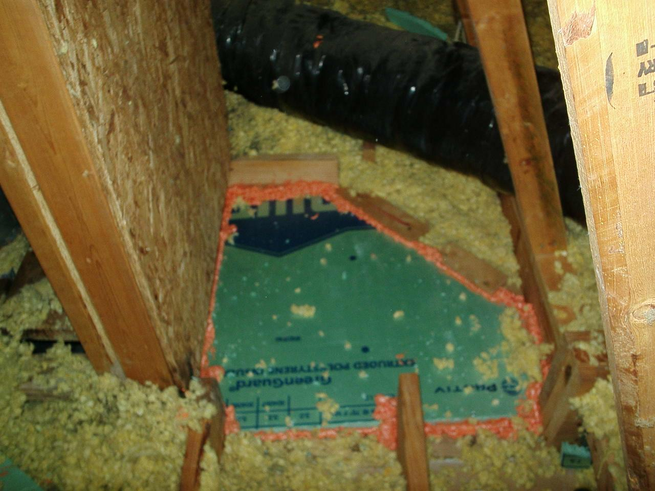 Sealing the Attic Leaks in Pittsboro, IN - After Photo