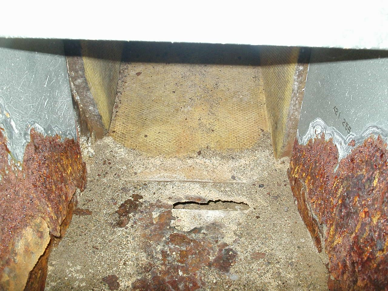 Whats in YOUR ductwork ? - Before Photo