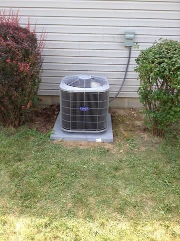 Old Outdoor AC Unit Replacement- Brownsburg, IN