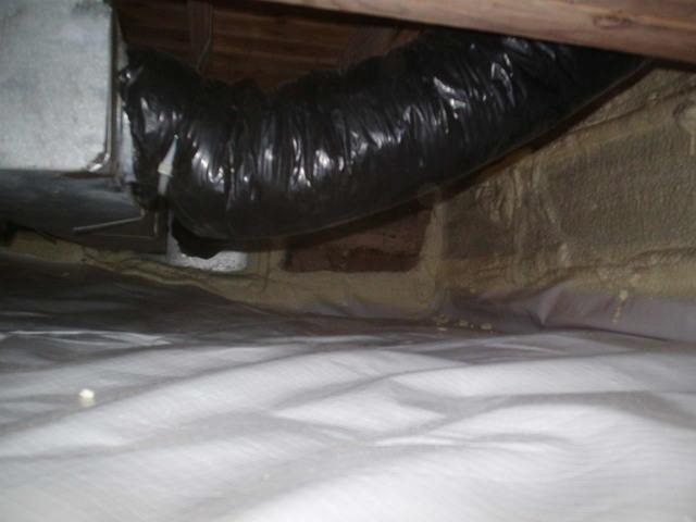 Crawl Space Encapsulation in North Salem, IN