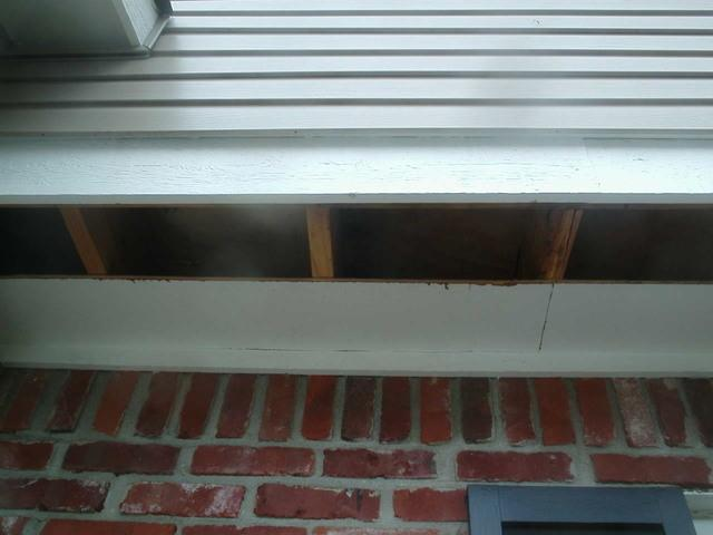 Cantilever Insulation in Indianapolis, IN - Before Photo