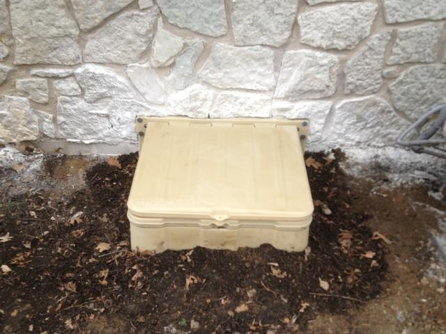 Exterior Crawl Space Access Makeover -Indianapolis, IN