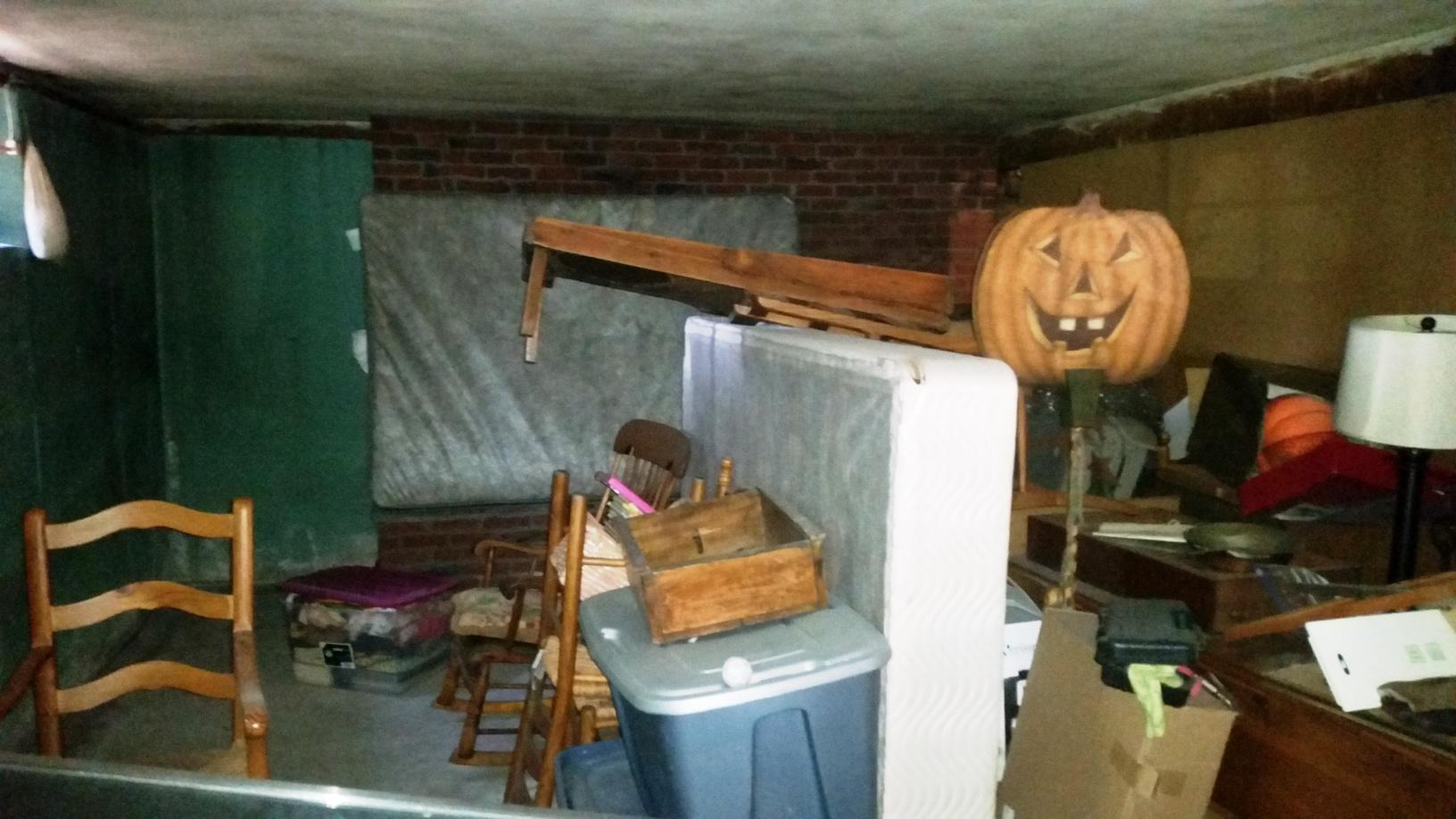 Scary to Cheerful in Melrose, MA - Before Photo