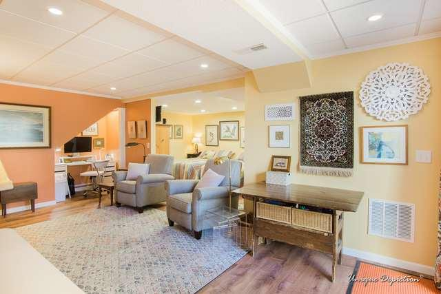 Cheerful and Bright Studio-Style Finished Basement in Nashua, NH