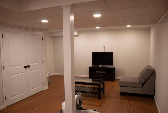 Bright and Inviting Basement for a Growing Family in Salem, NH