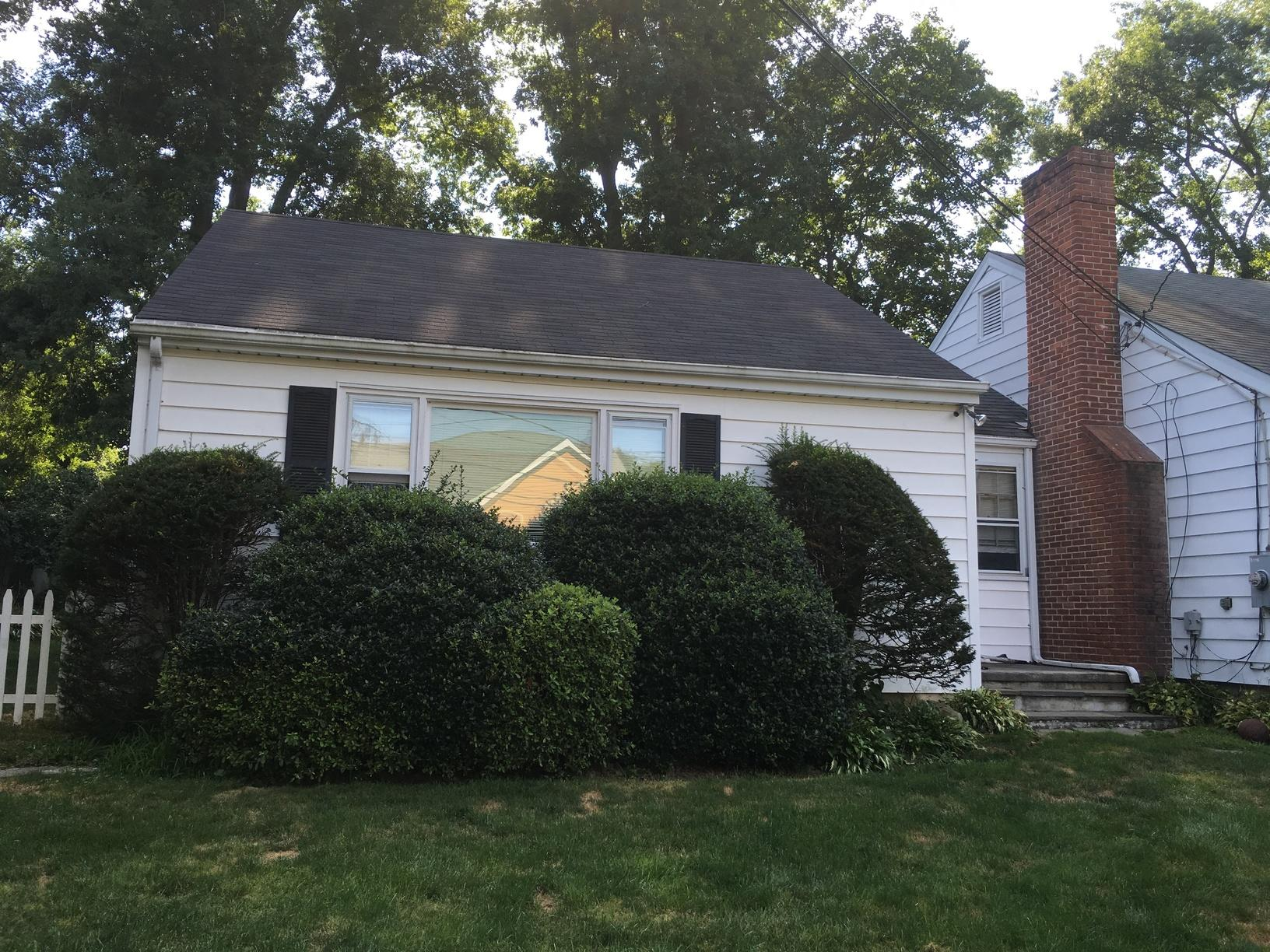 Roof Replacement in Westport, CT - Before Photo