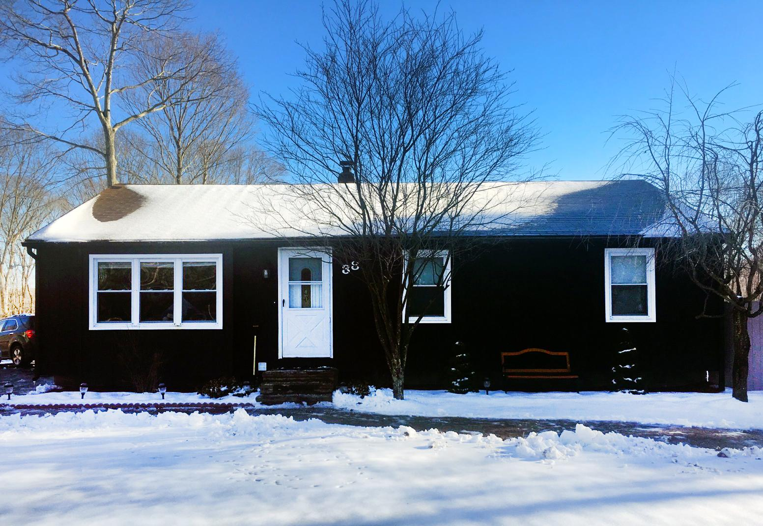 Ranch Style Roof Replacement in Scotland, CT - Before Photo