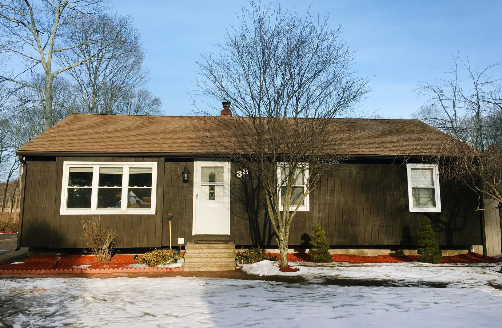 Ranch Style Roof Replacement in Scotland, CT - After Photo