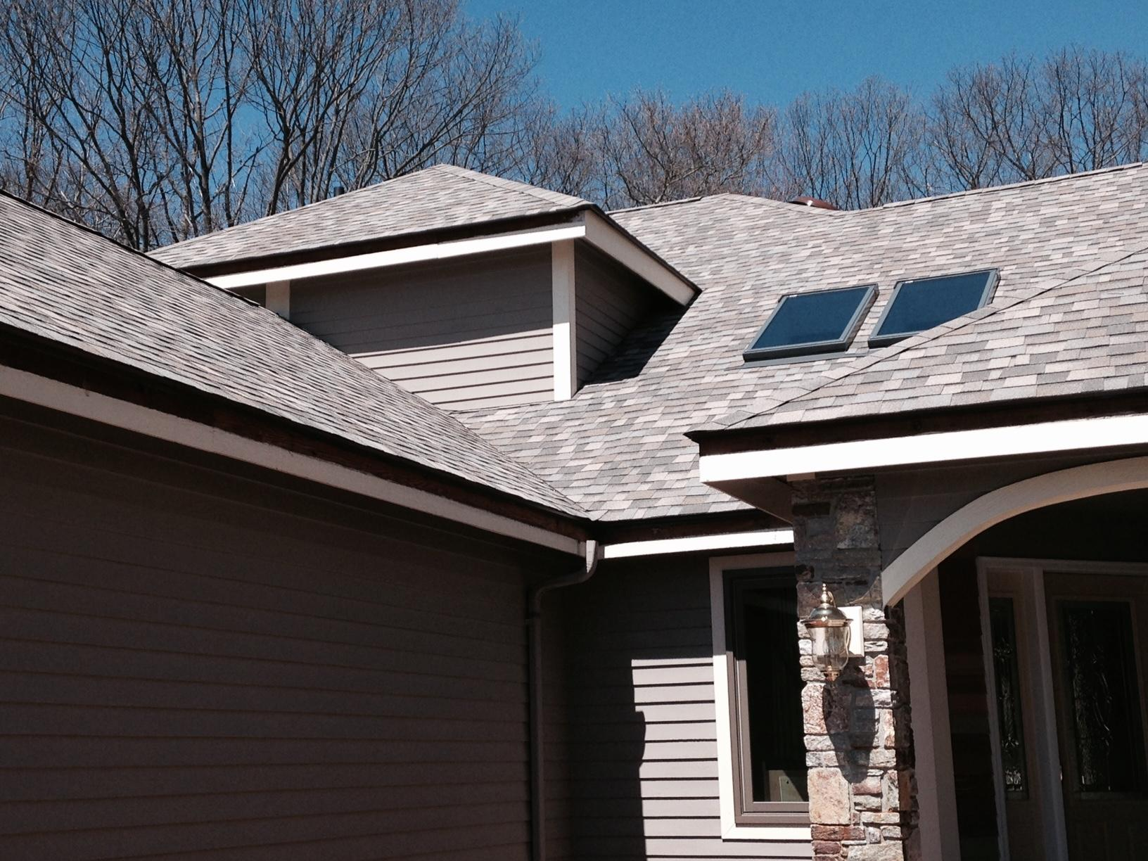 Home and Shed Roof Replacement in Prospect, CT - After Photo
