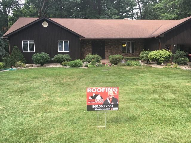 New Shingles and Gutters for a Leaky Roof in South Windsor, CT