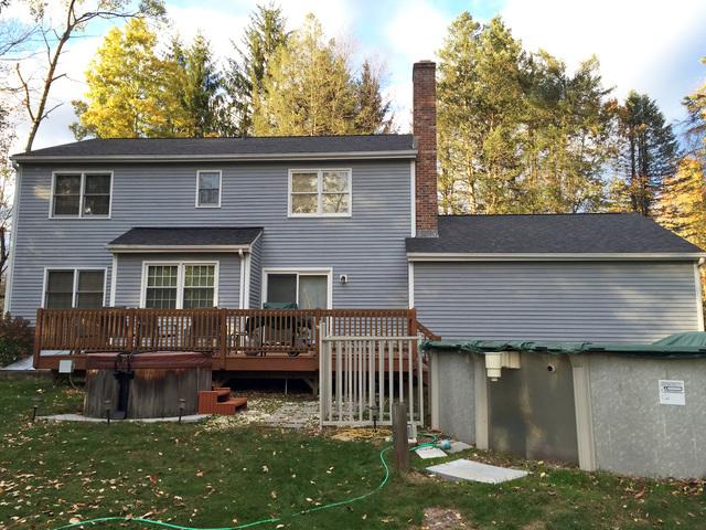 Full Owens Corning Roof Replacement in East Granby, CT
