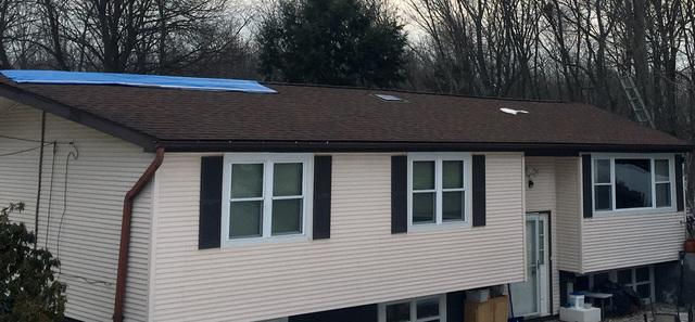Emergency Roof Replacement in Bloomfield, CT