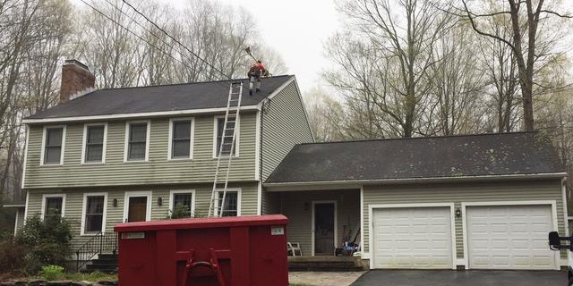 Roof & Flashing Replacement in Hebron, CT