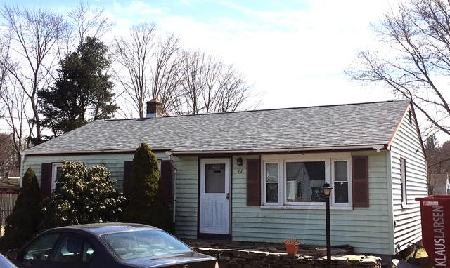 Roof Replacement in Mansfield, CT