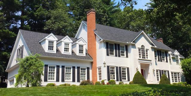 Colonial Roof Replacement in Avon, CT