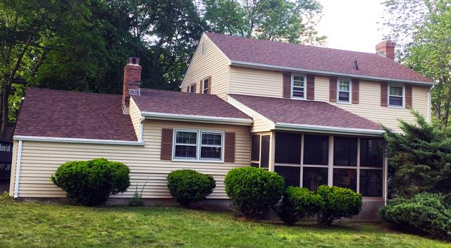 Colonial Style Roof Replacement in East Hartford