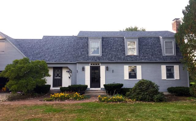 Colonial Style Roof Replacement in Granby, CT