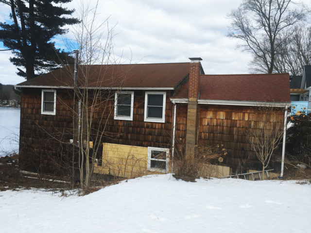 Lake House Roof Replacement in Andover, CT