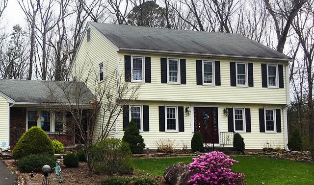 Colonial Roof Replacement in Manchester, CT