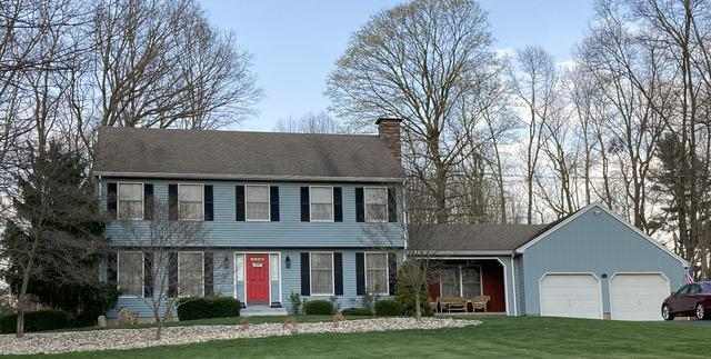 Before & After in North Franklin, CT