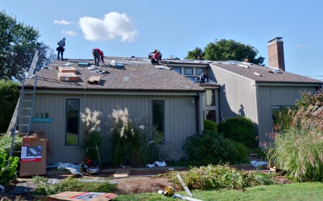 Cornwall Road Burlington, CT - Skylight and New Roofing