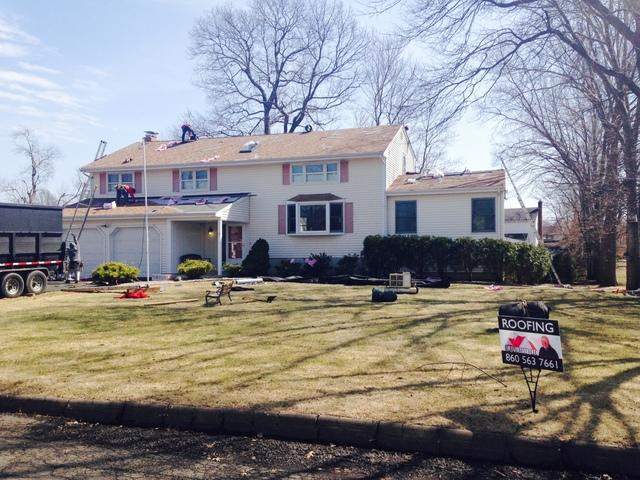 Full Roof Replacement in Rocky Hill, CT
