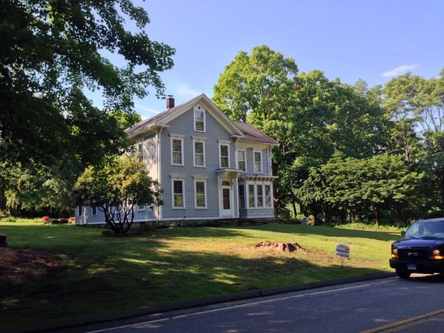 Colonial Home Roofing Project in Lebanon, CT
